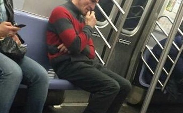 20 Unusual Images of Mysterious People Found On Subway