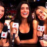 Dixie D'Amelio at NBA 2020